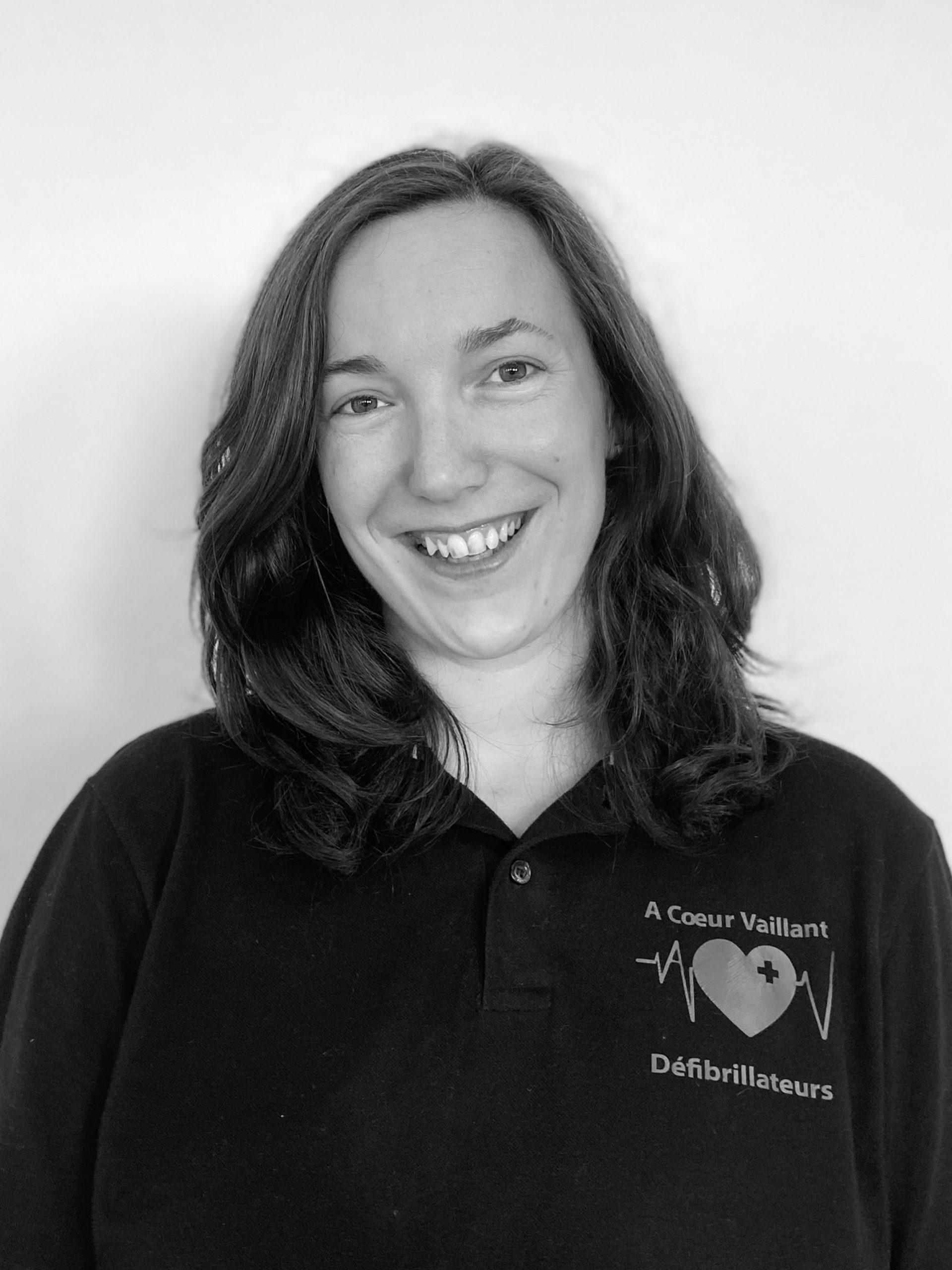 Clémence Rondeau - RH - Technicienne Conseil Formatrice Photo - A Coeur Vaillant Défibrillateurs