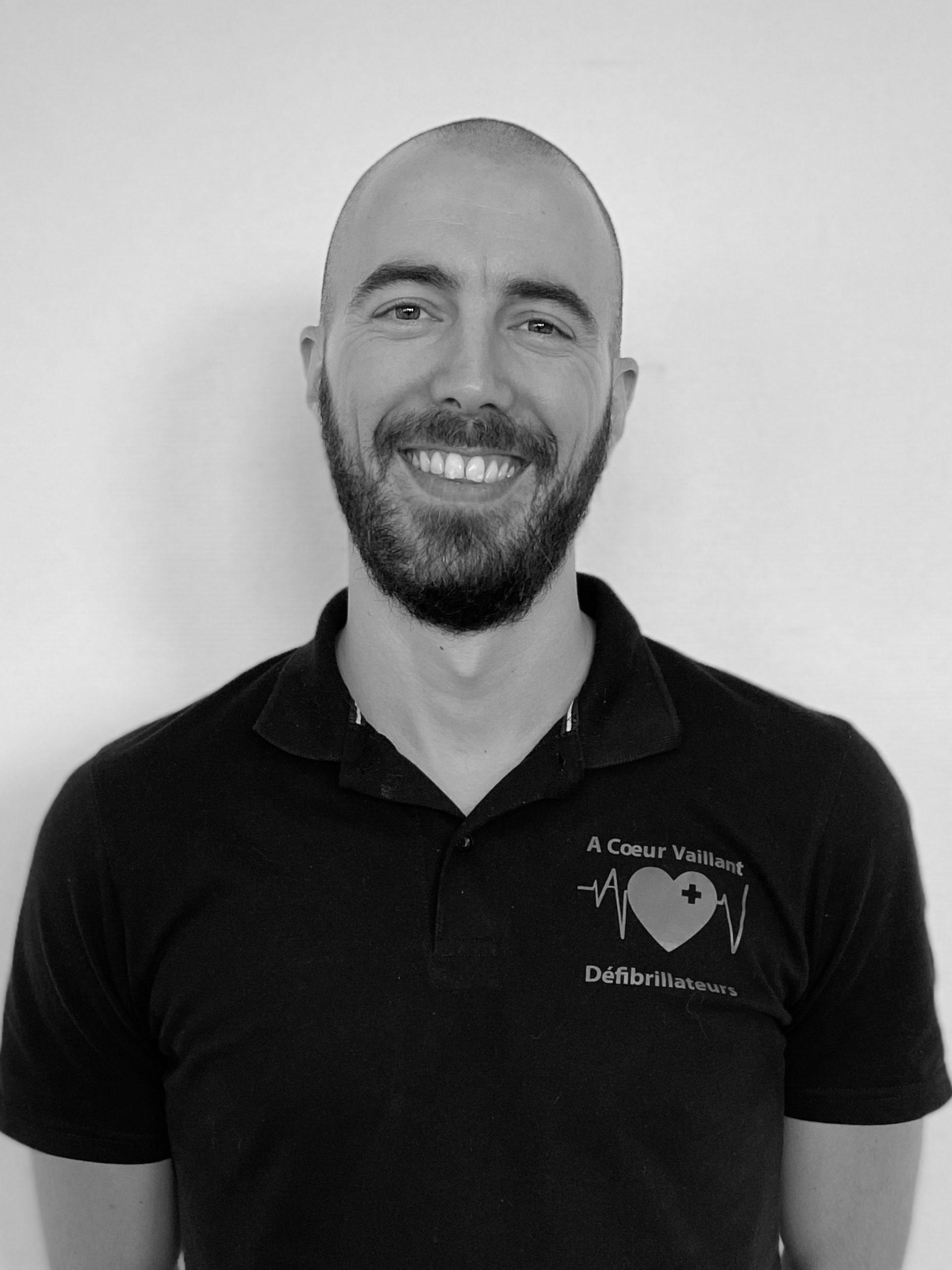 Damien VOGT - Technicien Conseil Formateur Agence Sud-Ouest - A Coeur Vaillant défibrillateurs