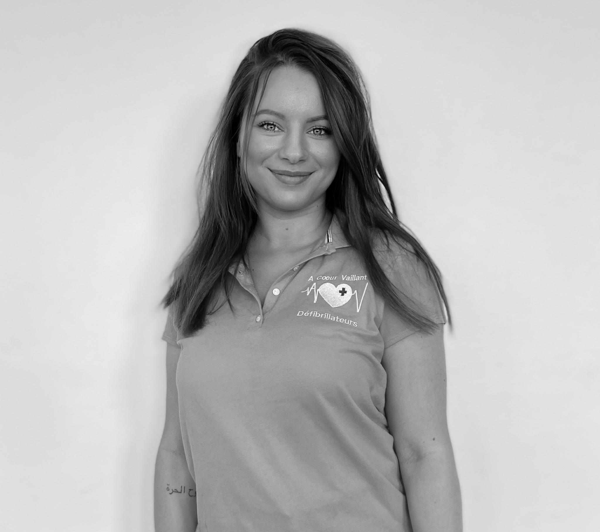 Sophia Chala - Technicienne Conseil Formatrice Photo - A Coeur Vaillant Défibrillateurs