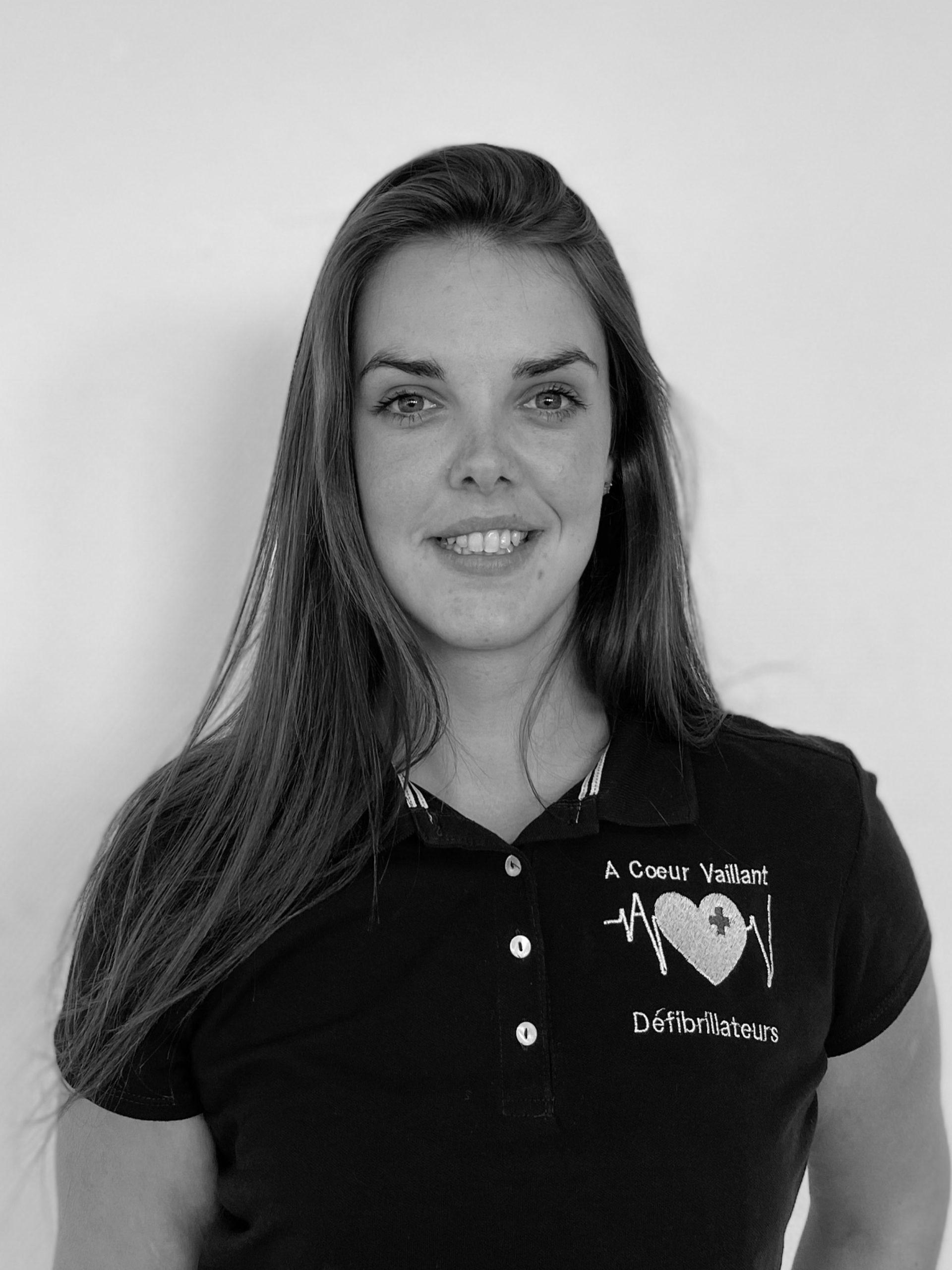 Warenne Renard - Technicienne Conseil Formatrice Photo - A Coeur Vaillant Défibrillateurs